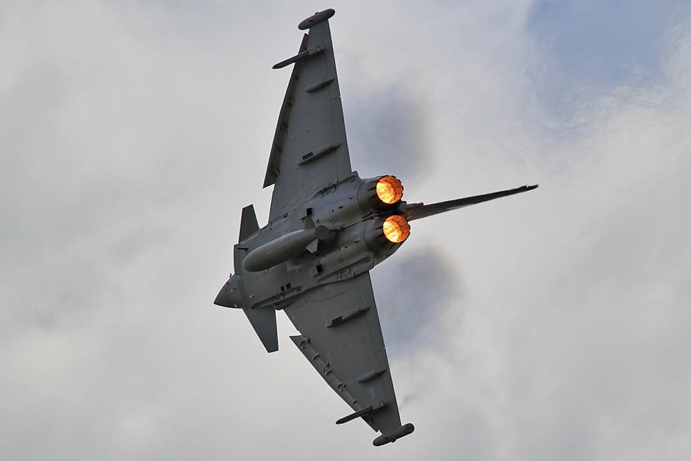 2012 geflogen von Sqadron Leader Scott Loughran der No. 6 Sqn aus RAF Leuchars.
