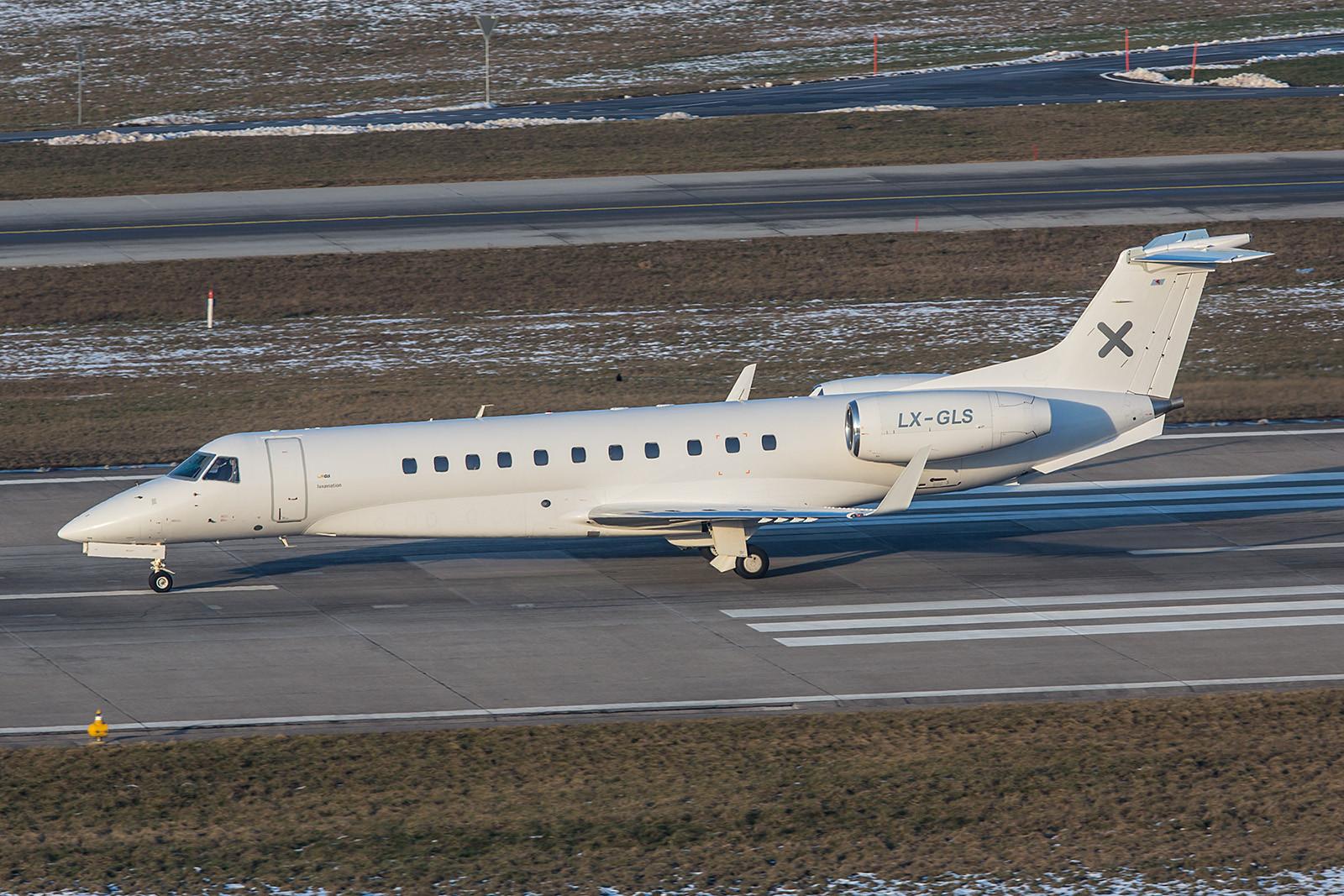 LX-GLS; Luxaviation Embraer EMB-135BJ Legacy