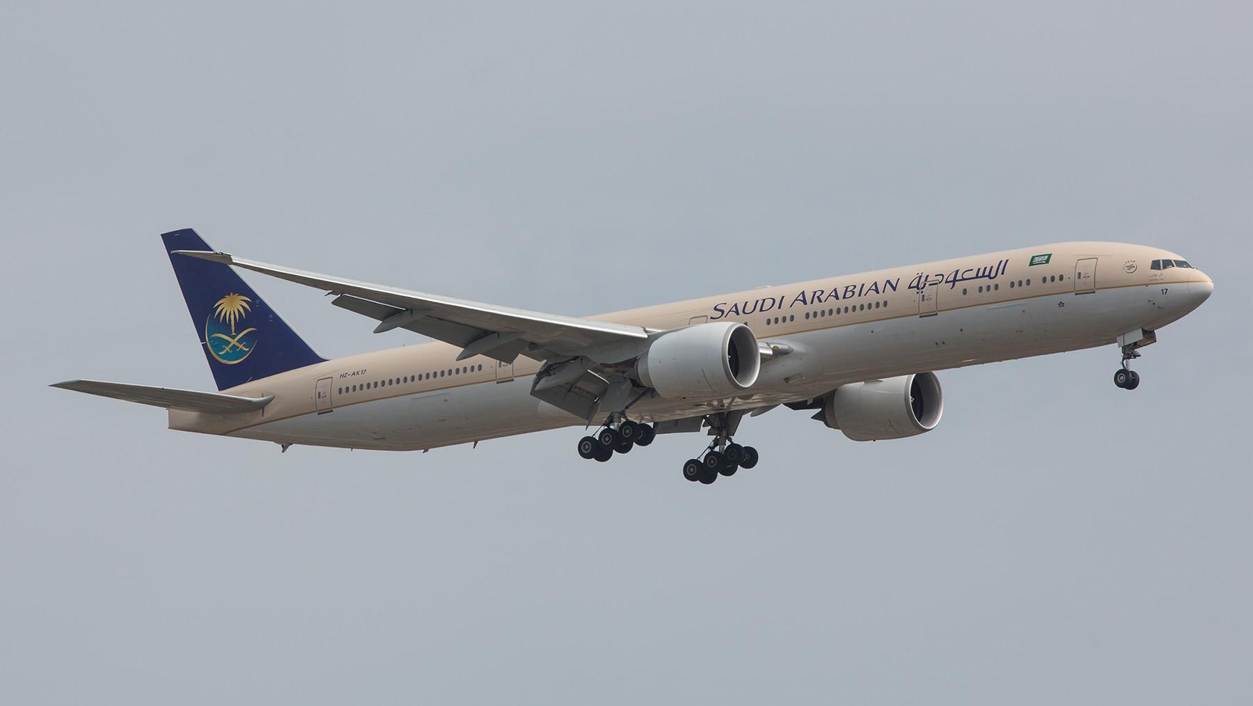 Saudi Arabian Airlines fliegt drei Mal am Tag zwischen London und ihrem Heimatland.