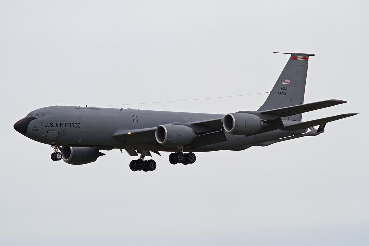 03.06.2013; 63-8013, KC-135 der Ohio ANG (121 ARW, Rickenbacker AFB)