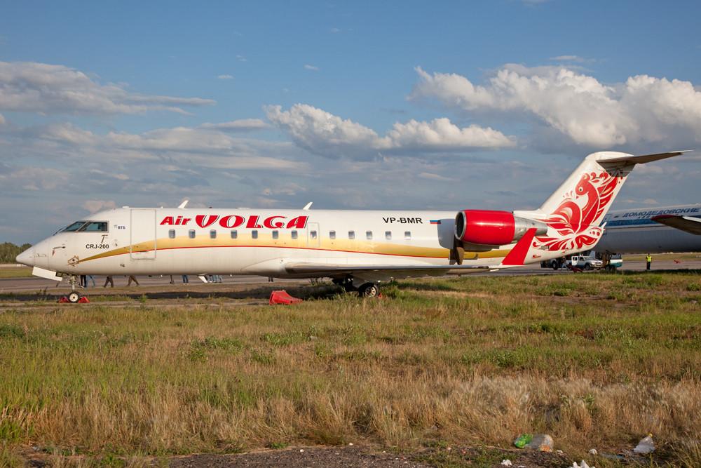 CRJ in den Farben der Air Wolga.