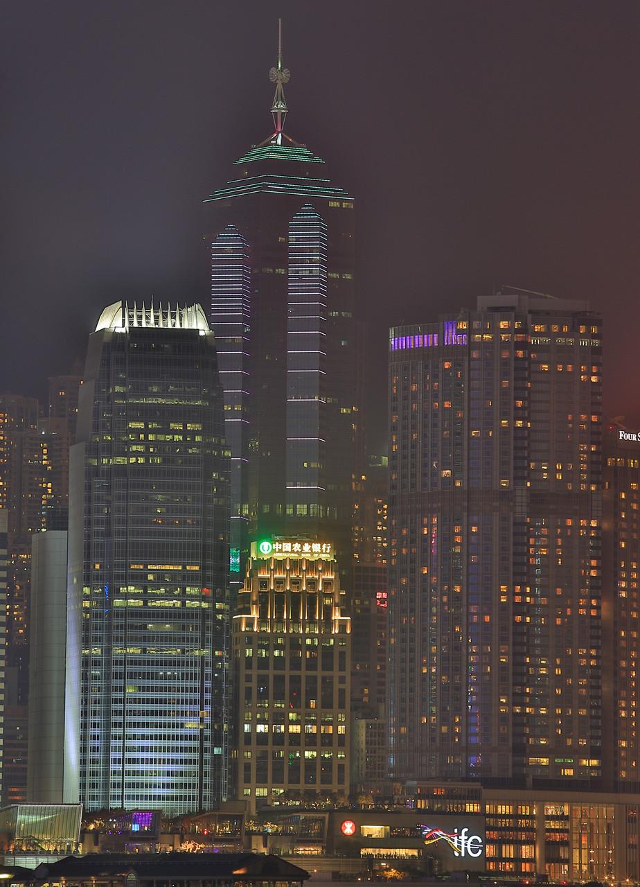 Im Winterhalbjahr herrscht of Nebel in Hongkong