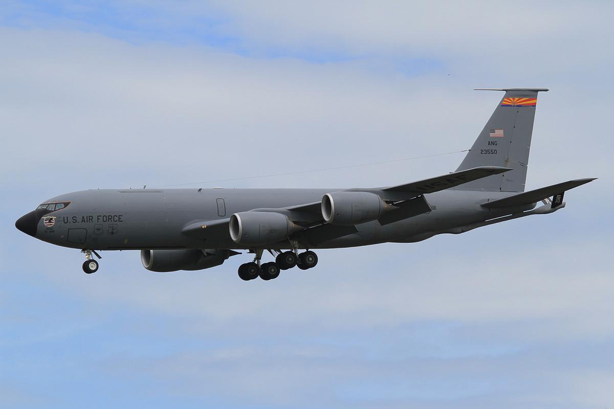 03.06.2013; 62-3550, KC-135 der Arizona ANG (151 ARW, Sky Harbor ANGB, Phoenix)