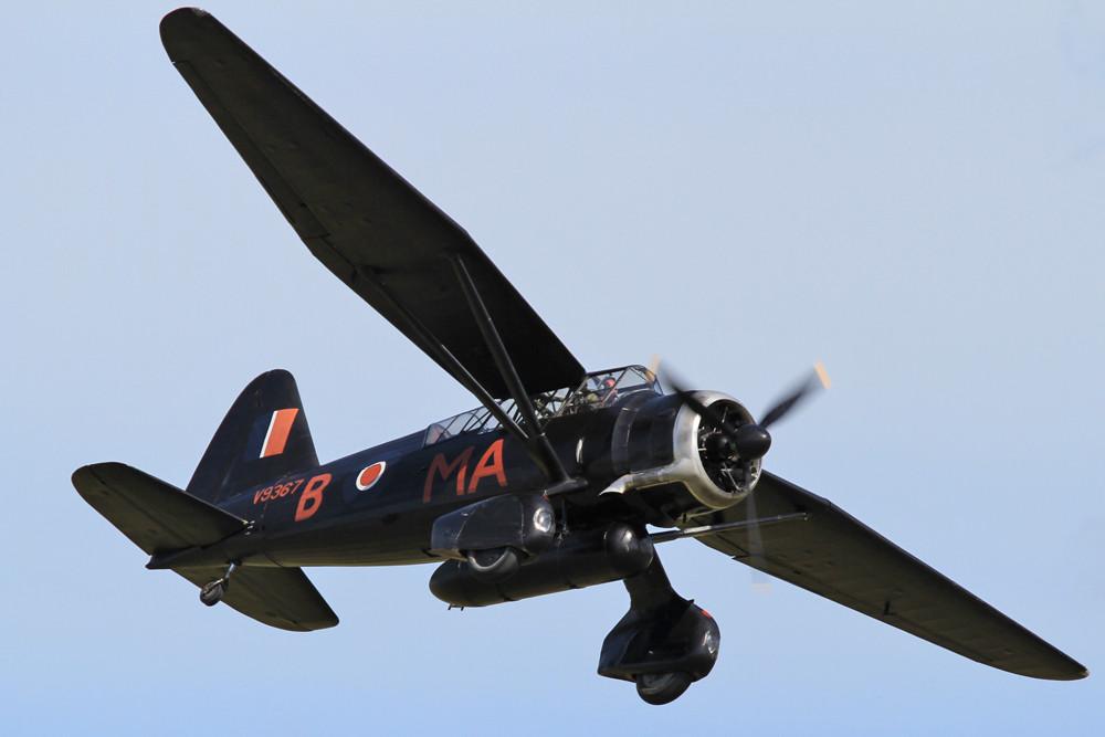 Die Westland Lysander war ein Aflärungs- und Verbindungsflugzeug.