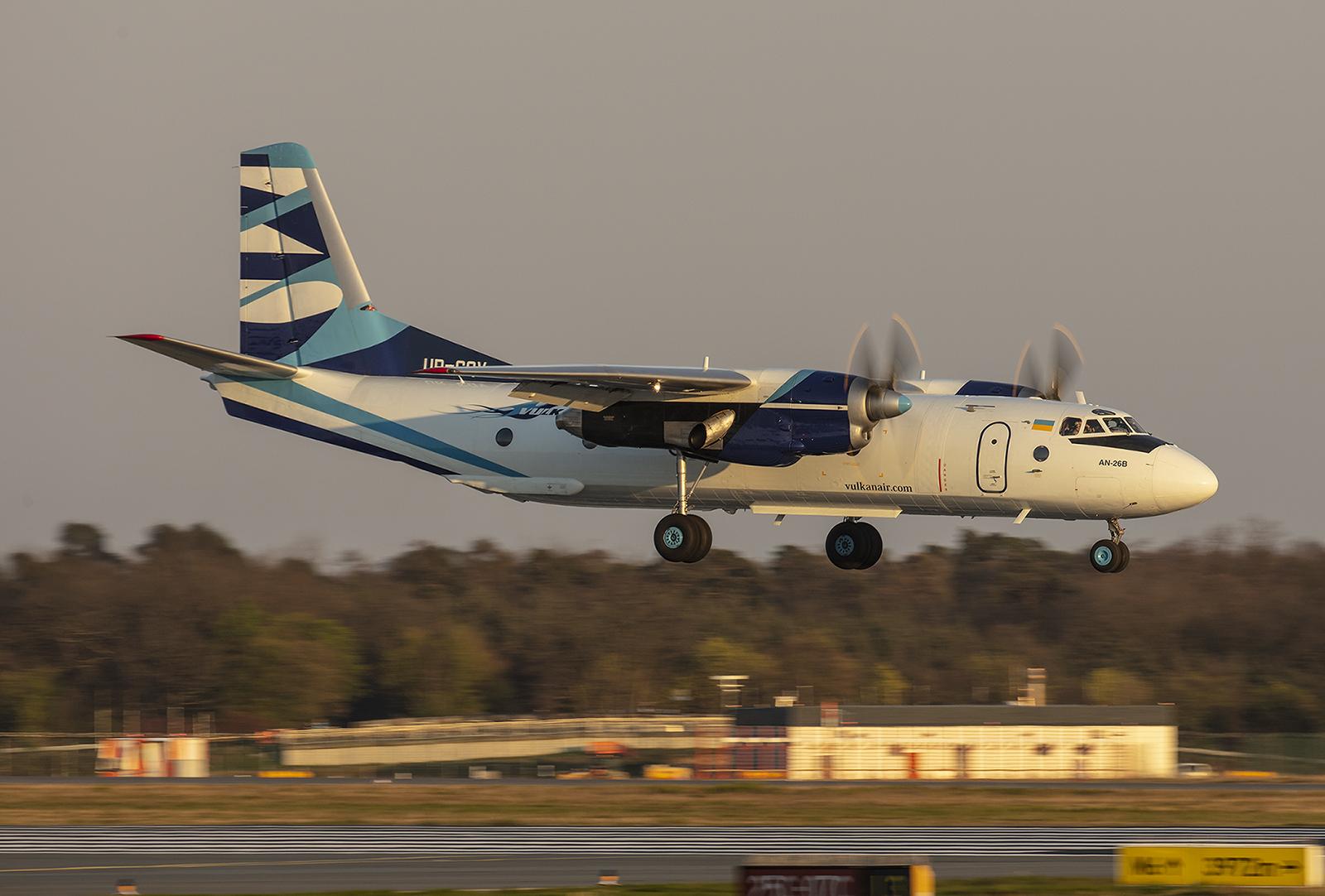 Noch ein exot, diese Antonov An-26