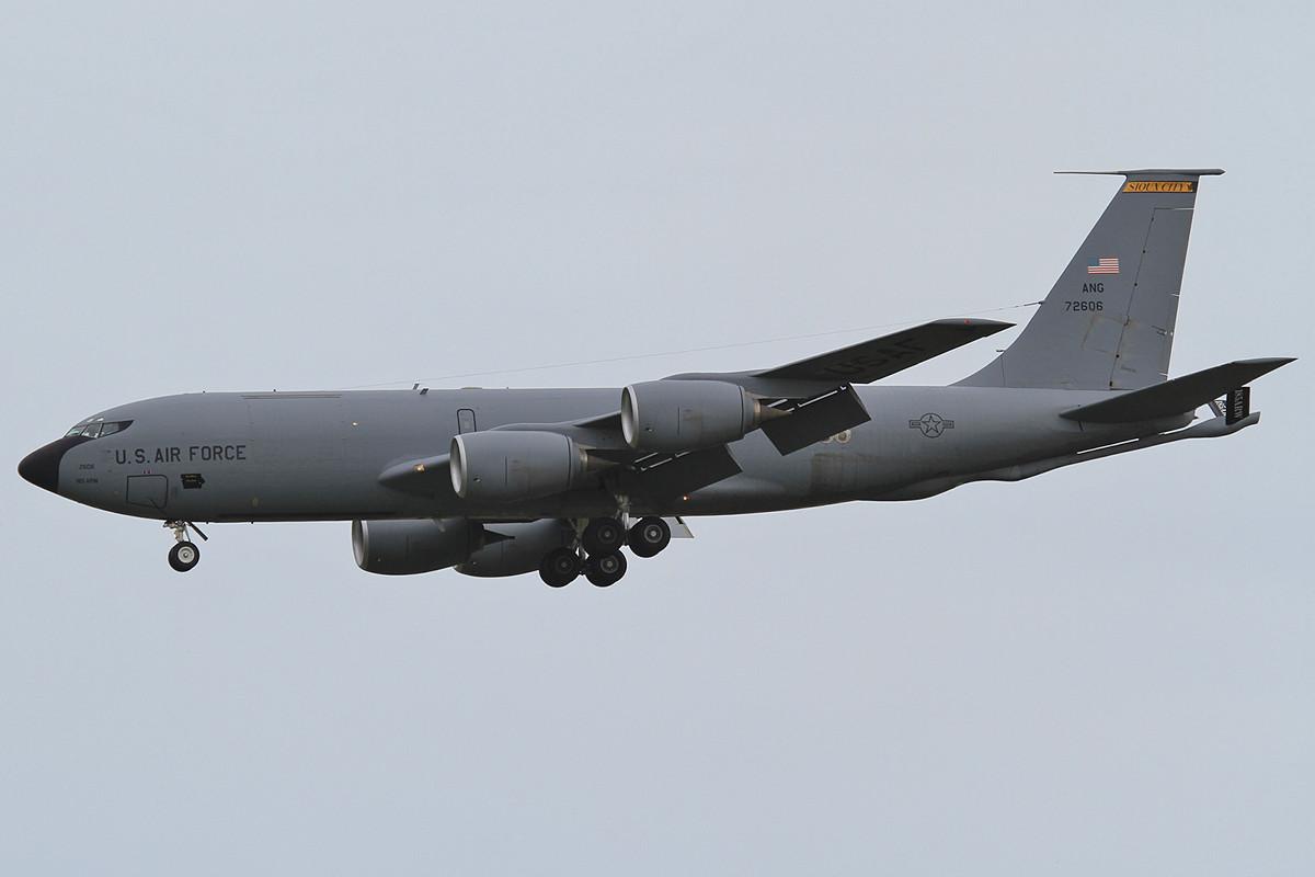 03.06.2013; 57-2606, KC-135R der Iowa ANG (185 ARW, Sioux City ANGB)
