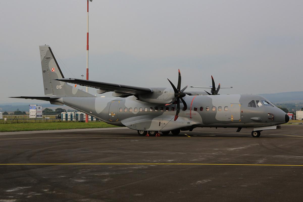 Auch die Polen kamen mit einer CASA 295