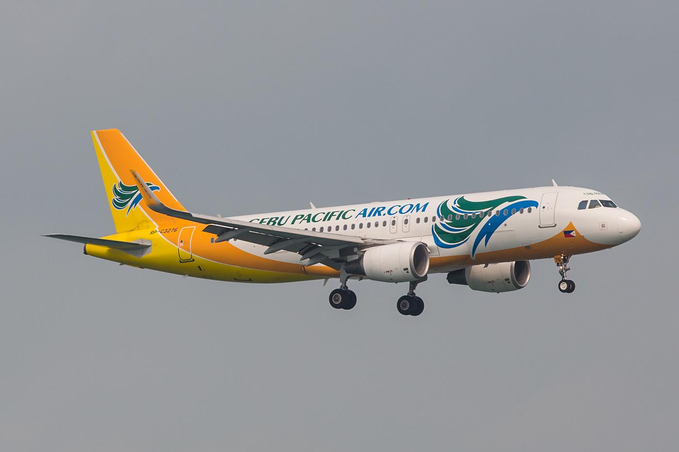 Cebu Pacific ist eine Low Cost Airline von den Philippinen.