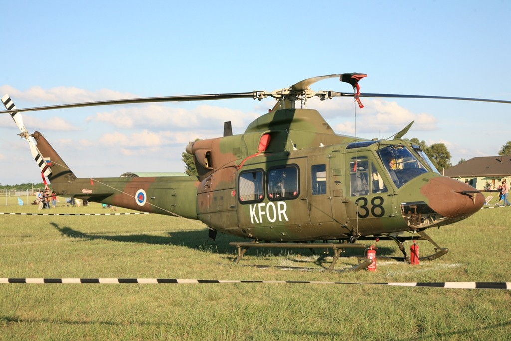 Bell 412 der Slowenischen Luftwaffe.
