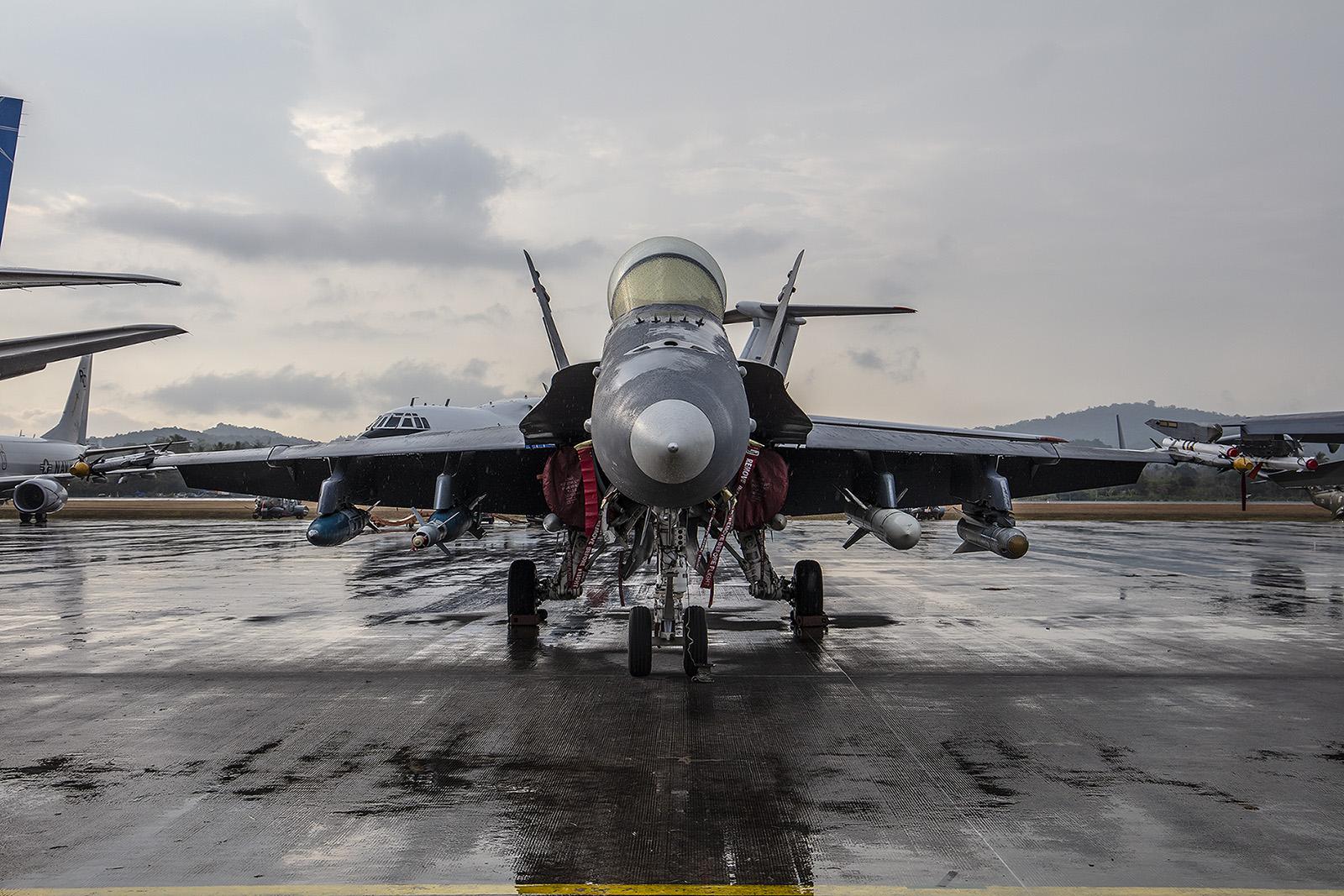 Noch acht F/A-18 Hornet stehen bei der RMAF im Dienst.