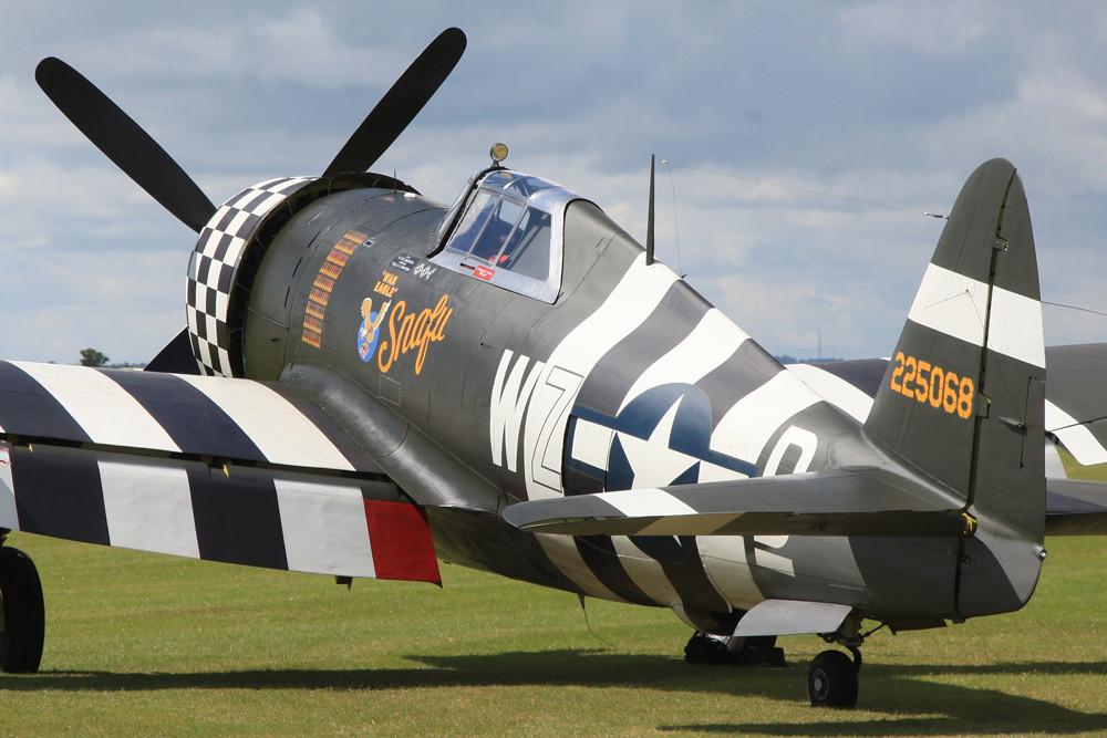 Der gigantische Motor der P-47 Thunderbolt leistete rund 2500 PS.