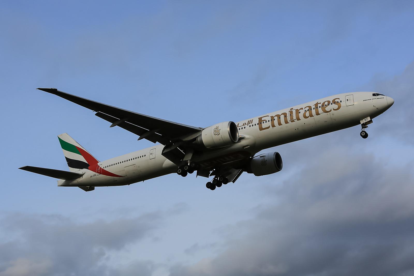 Boeing 777-300ER aus Dubai