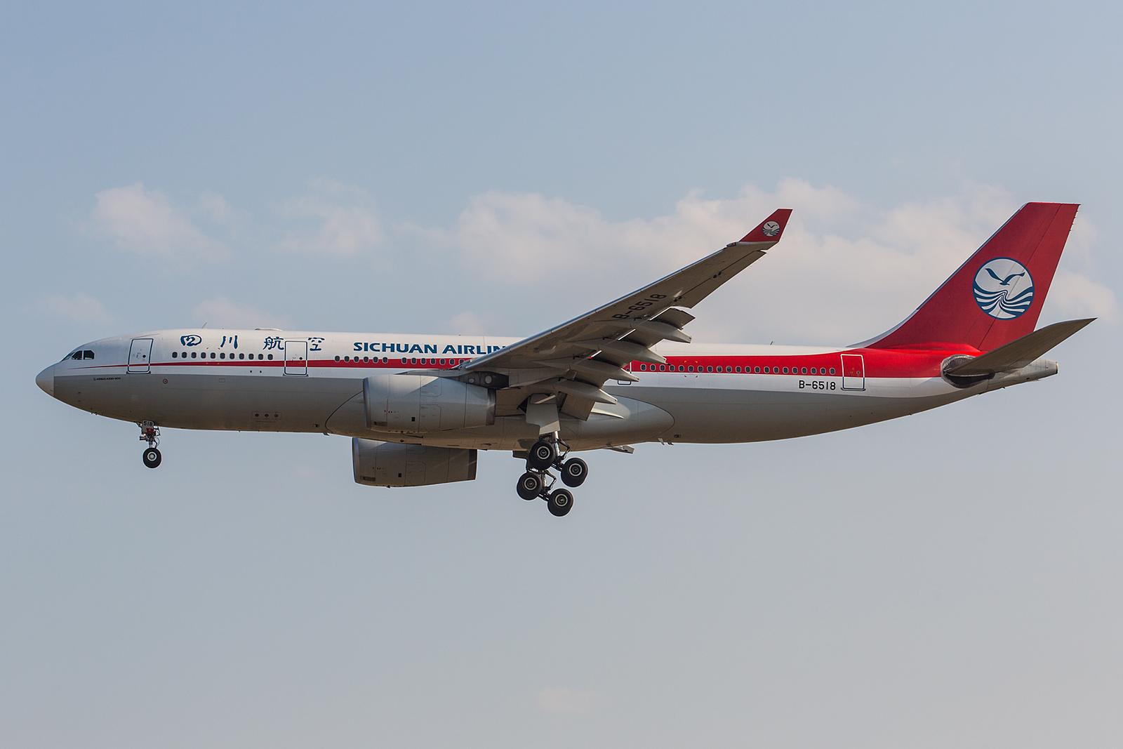 Ein echter Exot in Prag ist die Sichuan Airlines. Für sie ist der Vaclav-Havel-Airprot die einzige Destination in Europa