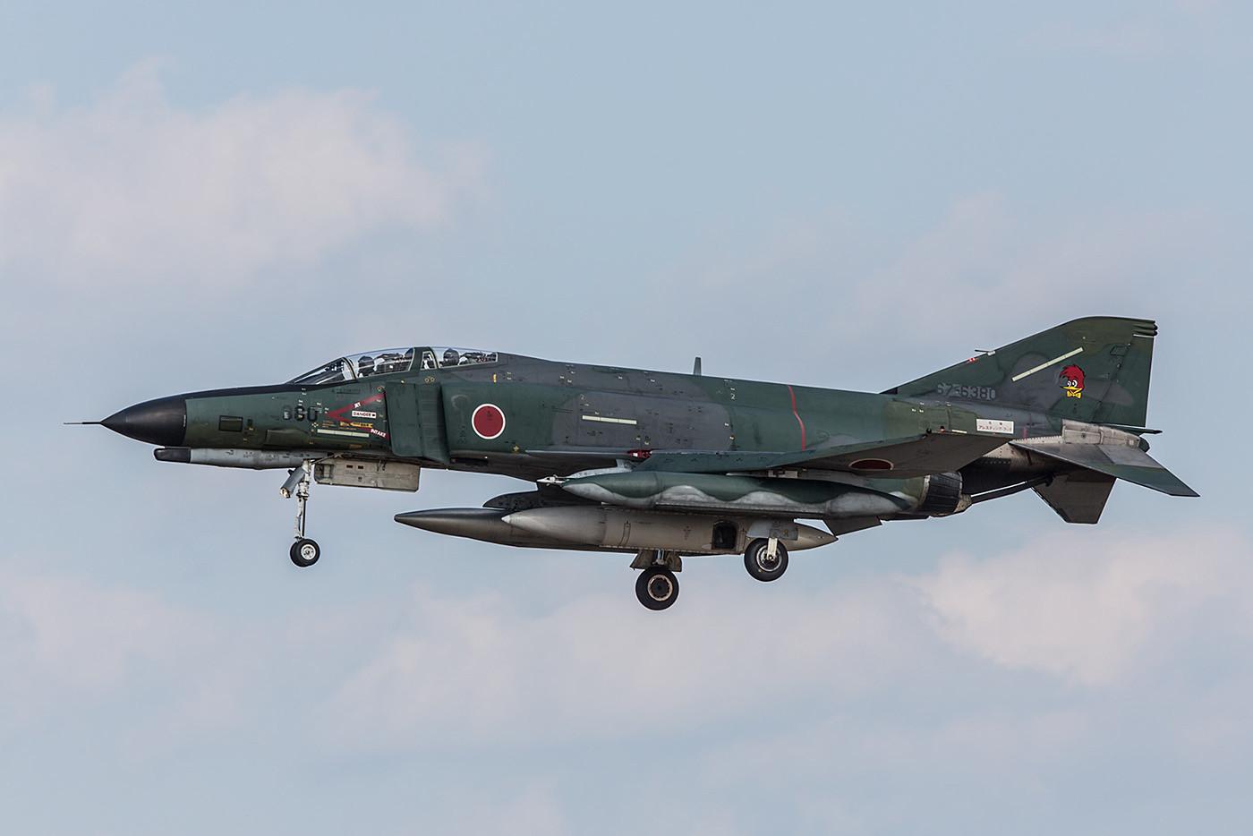 RF-4EJ Kai der 501 Hikotai aus Hyakuri, schön dass sie immer noch fliegen.