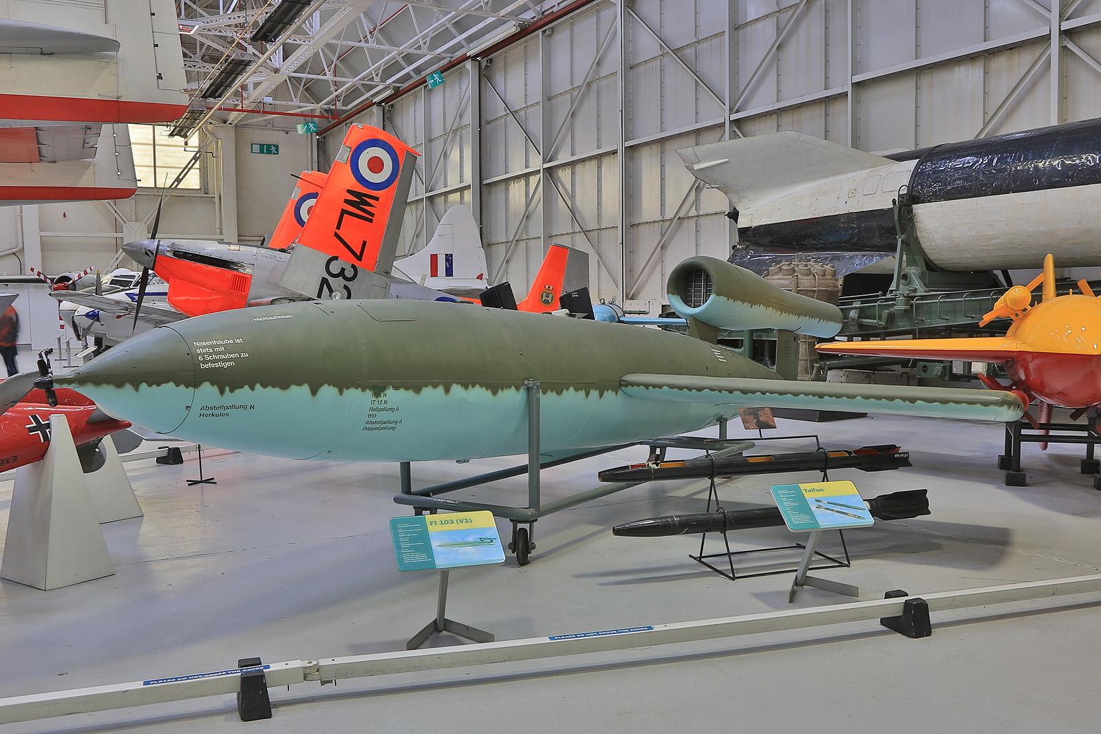 Die Fieseler Fi-103, besser bekannt als V-1.