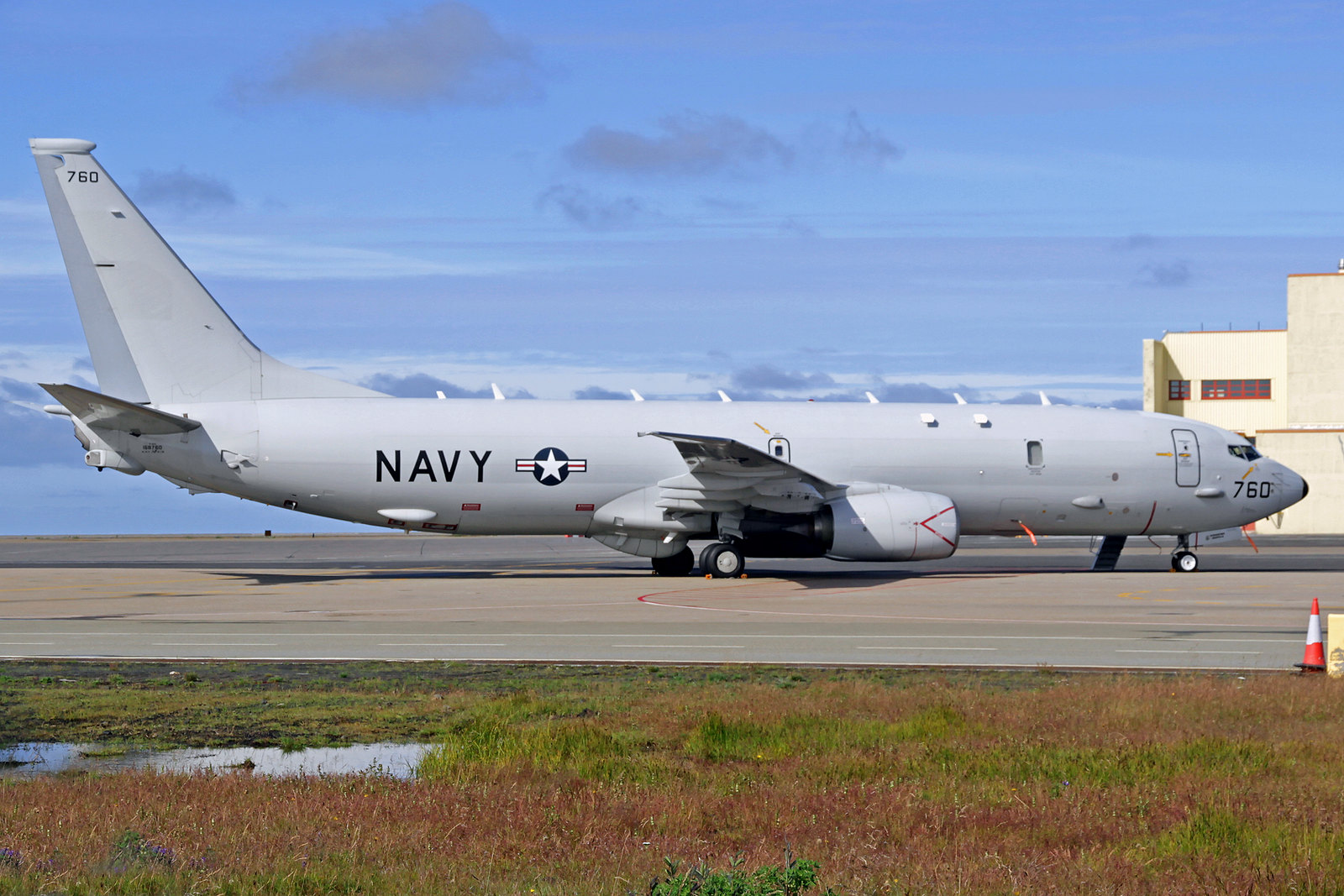 United States Navy Boeing P-8A Poseidon 168760, KEF, 12. August 2020