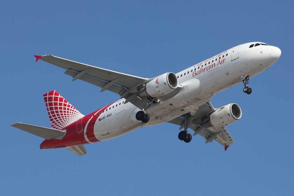 Die Bahrain Air aus dem gleichnamigen Emirat.