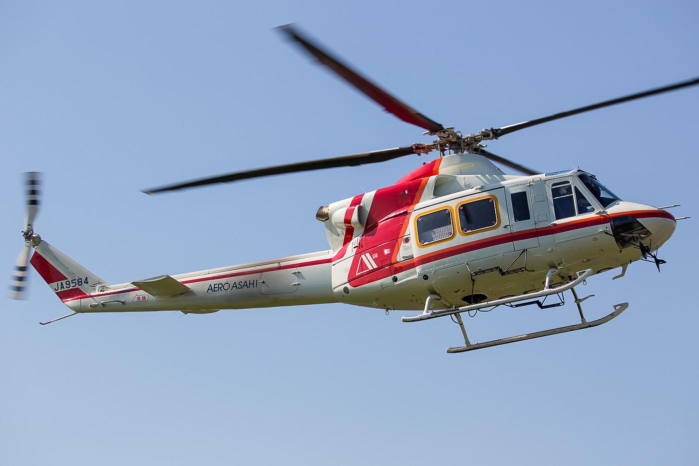 Bell-412 der Aero Asahi