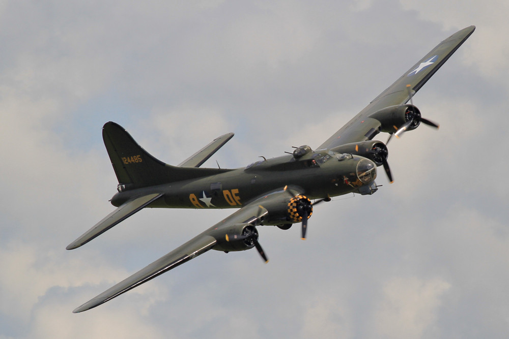 Fotopass der B-17 Flying Fortress