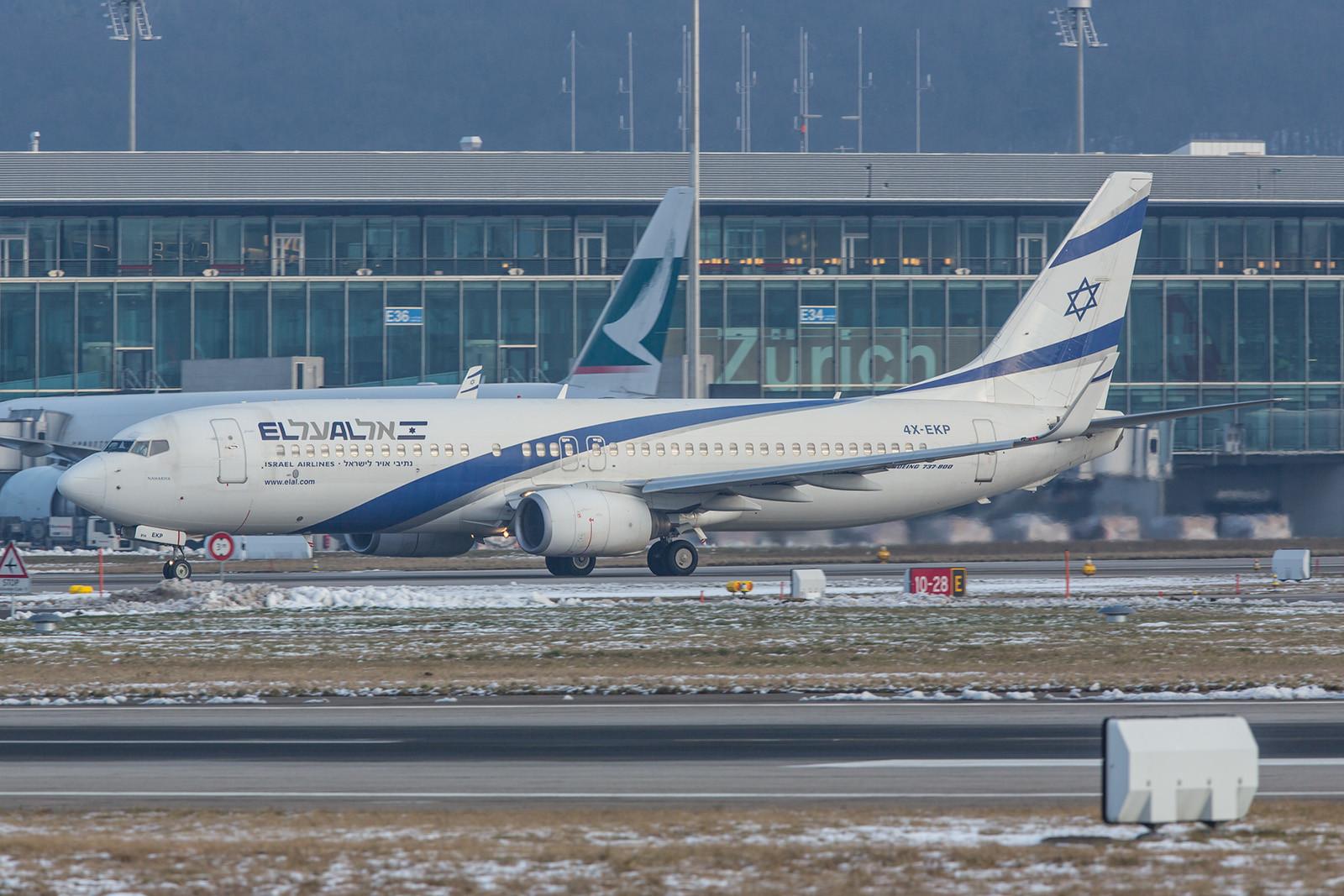 PM Netanjahu reiste mit dieser Boeing 737-8Q8 der El Al.