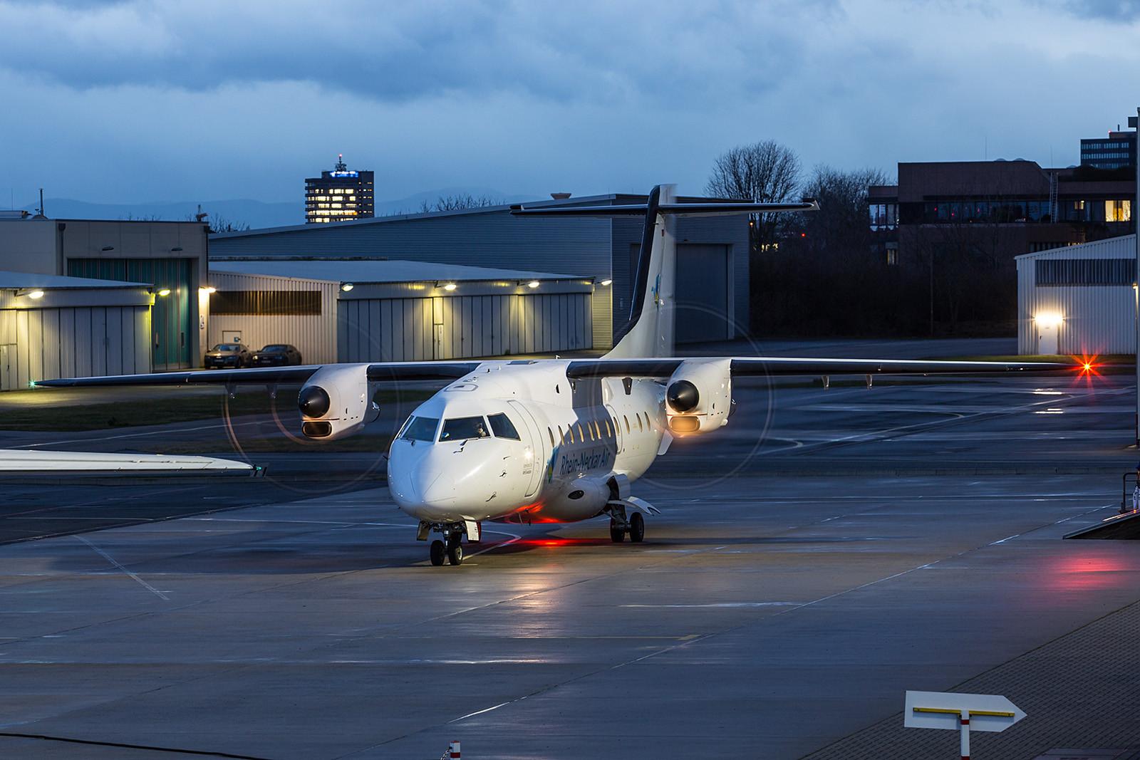 EDFM 12.01.2016; D-CMHB Dornier DO328; MHS Aviation für Rhein Neckar Air