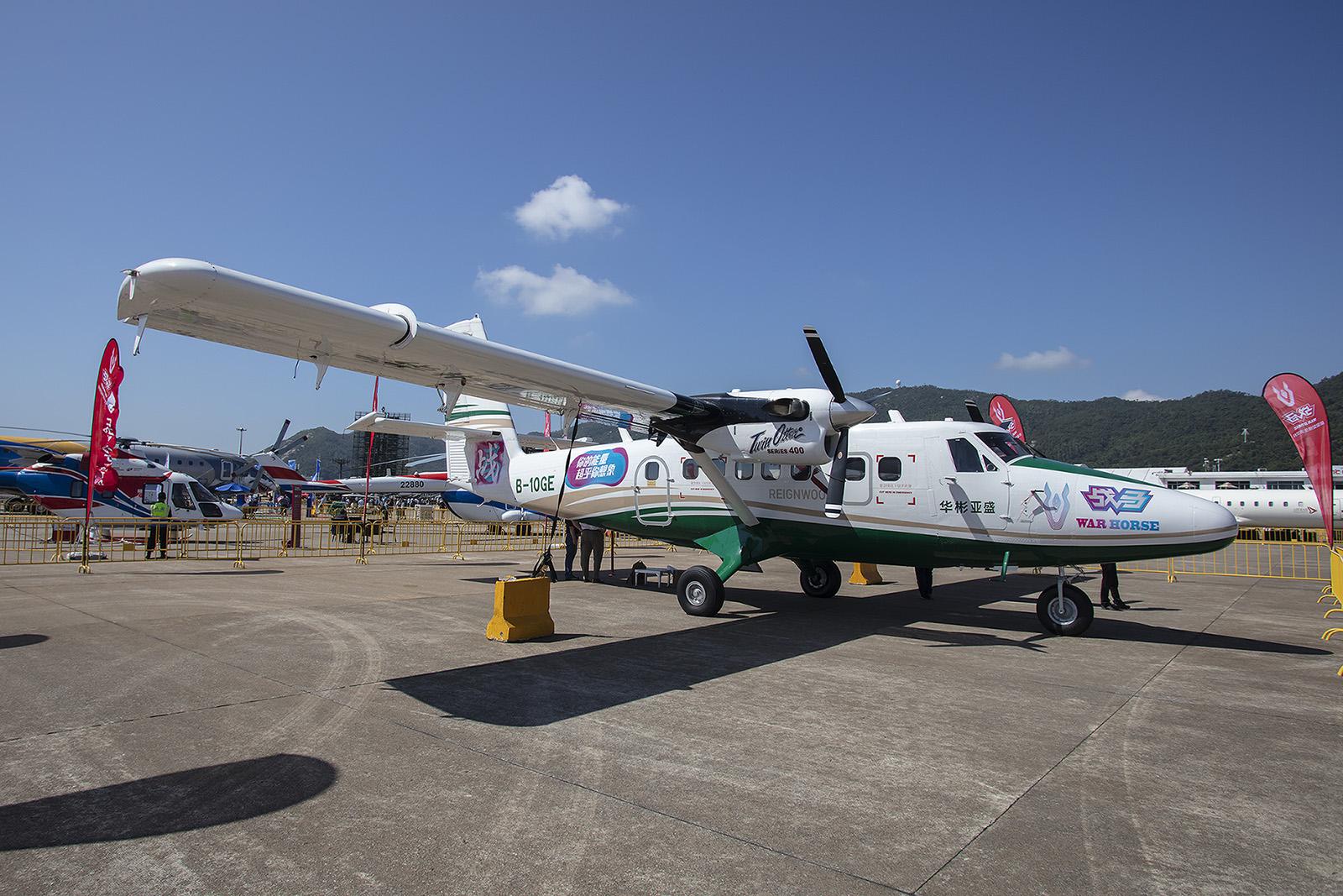 Ein echtes Arbeitspferd, die DHC-6 Twin Otter.