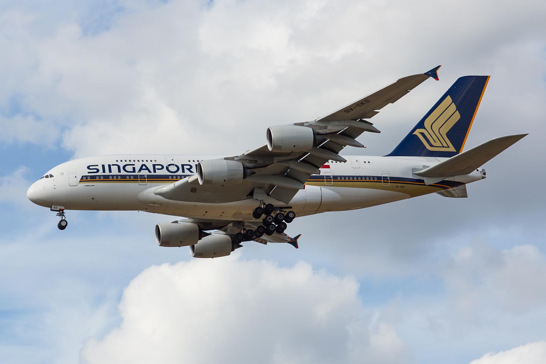 Sie waren einst die ersten, die mit der A 380 flogen, Singapore Airlines.