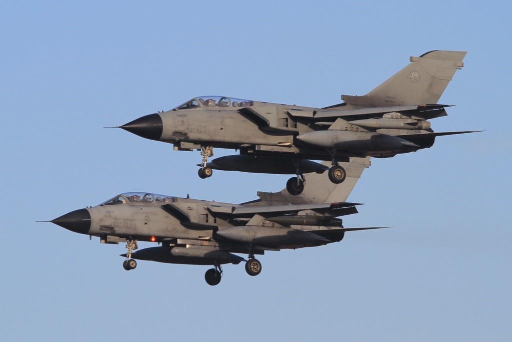 Landungen in der Formation sind in Italien üblicher, als bei der Luftwaffe.