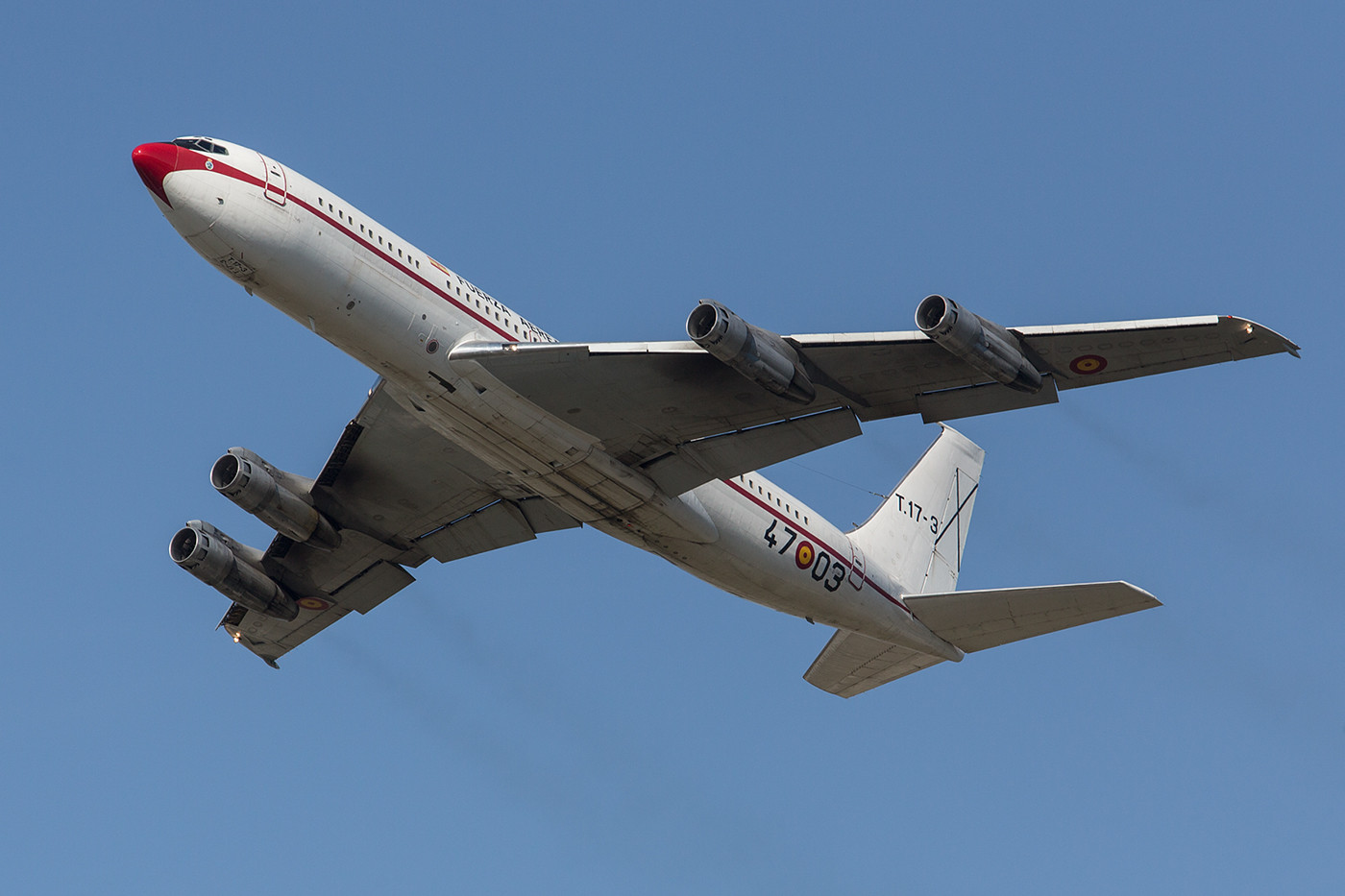 RMS 31.08.2015; Boeing 707-368C; T.17-3; Grupo 47 Madrid-Torrejon (Spanien)