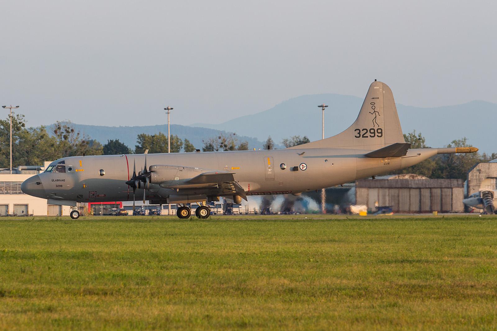 Von der Andøya flystasjon im Norden Norwegens kam diese P-3C Orion.