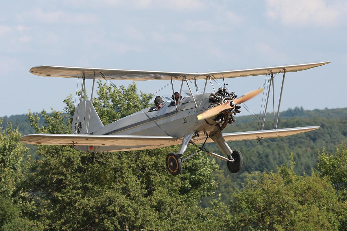 Die Focke Wullf Fw-44J Stieglitz von 1936.