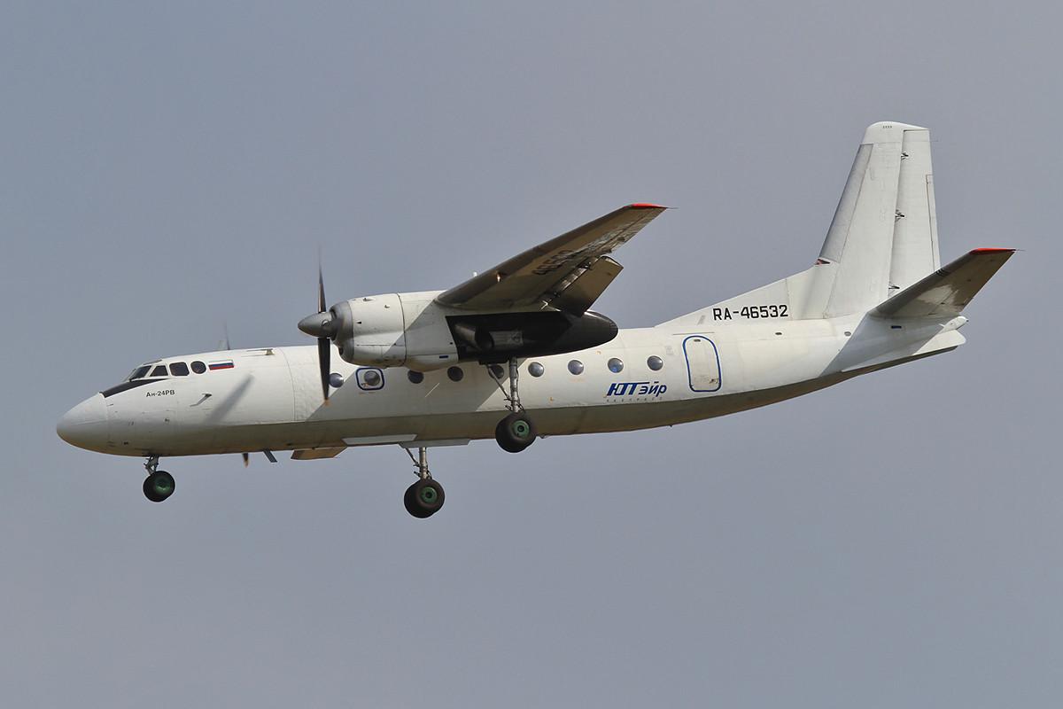 Antonov AN-24, der UTAir, als ich 1989 in einer geflogen bin, war das ein echtes Highlight.
