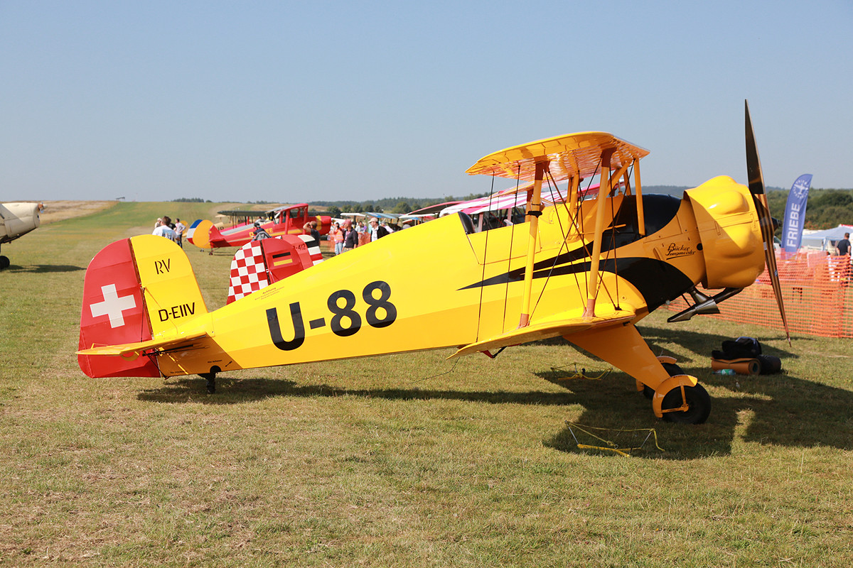 Bücker 133 Jungmeister, eine einsitzige Weiterentwicklung der Jungmann.