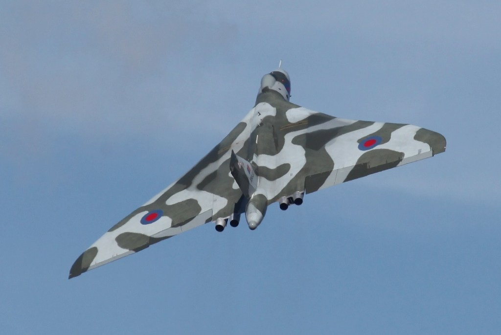 "Die XH558 der ""Vulcan to the Sky"""