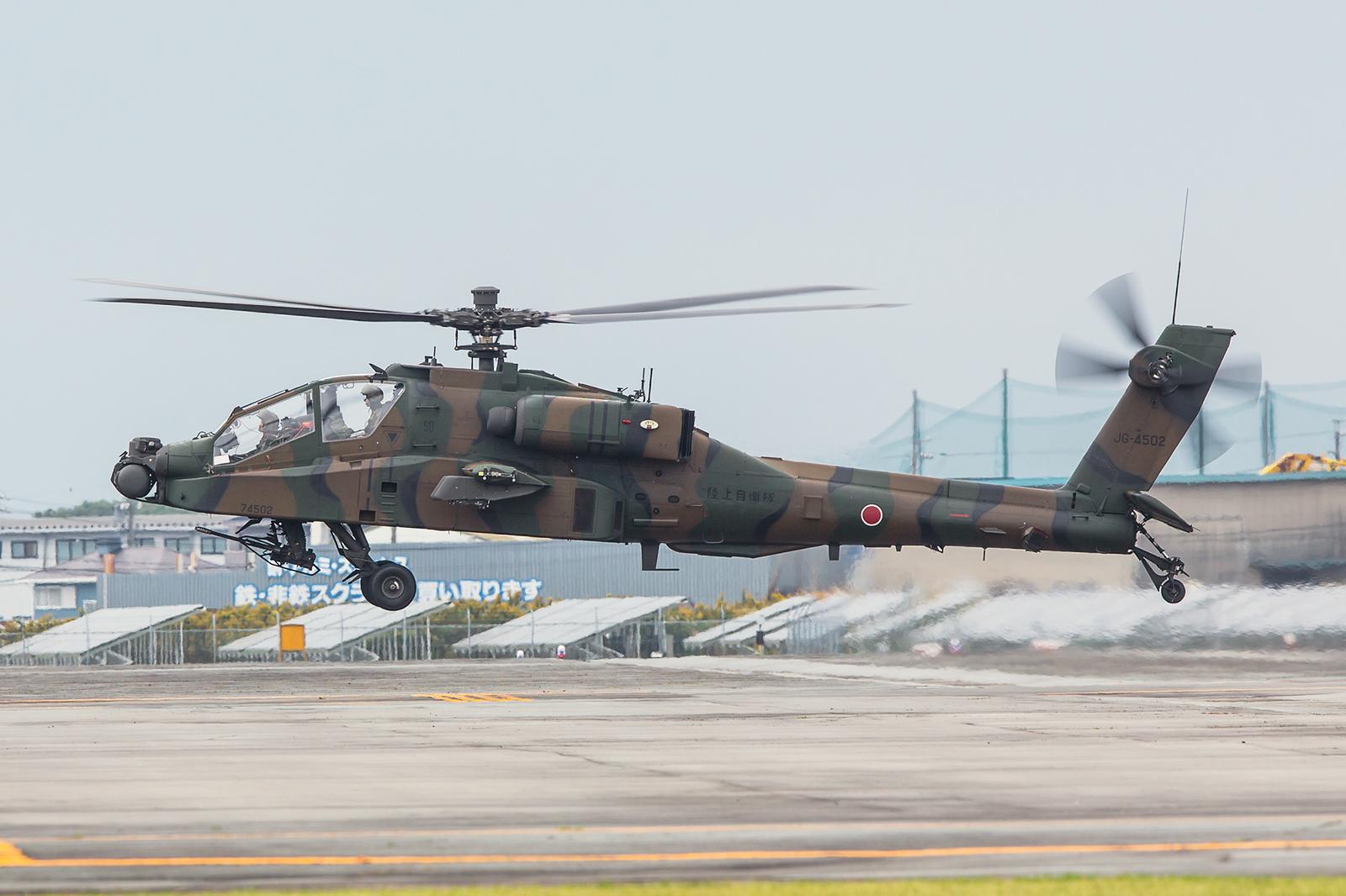 Nur 13 AH-64DJP fliegen derzeit in der JGSDF, ob es jemals mehr werden bleibt anzuwarten.