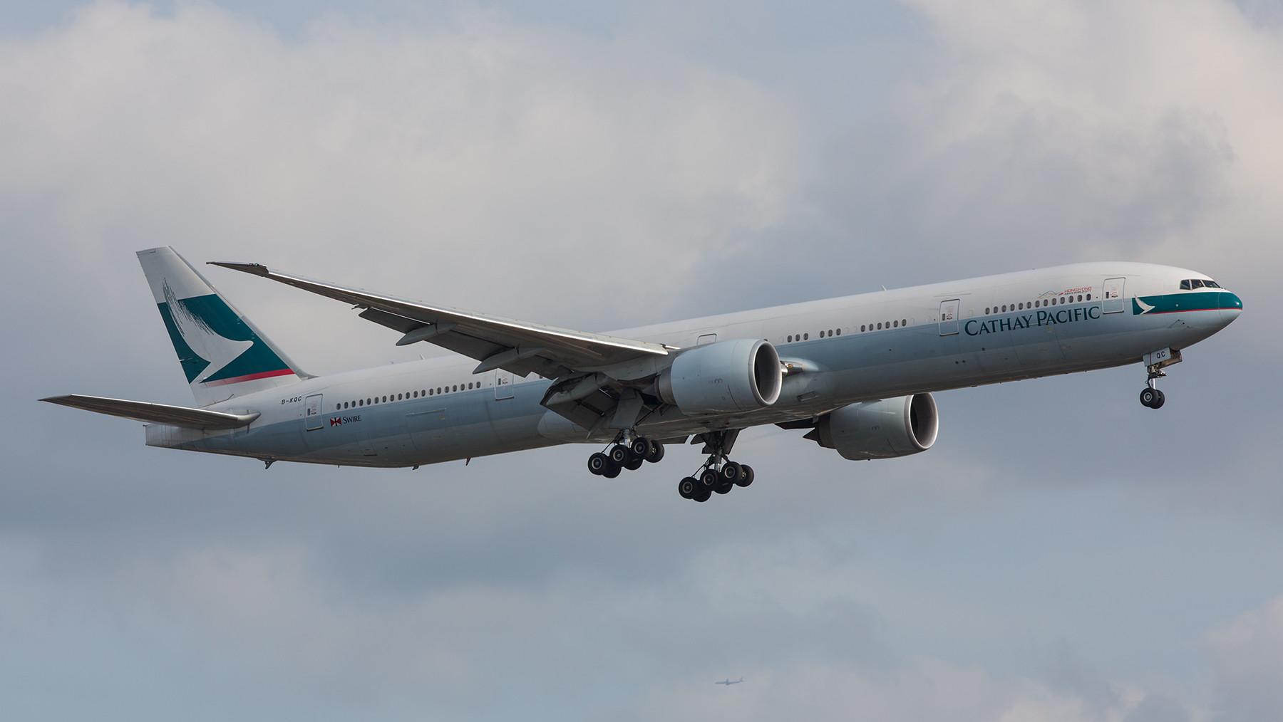 Die Cathay Pacific ist eine der bedeutensten Airlines aus Asien, sie wurde noch unter britischer Herrschaft zum Weltkonzern.