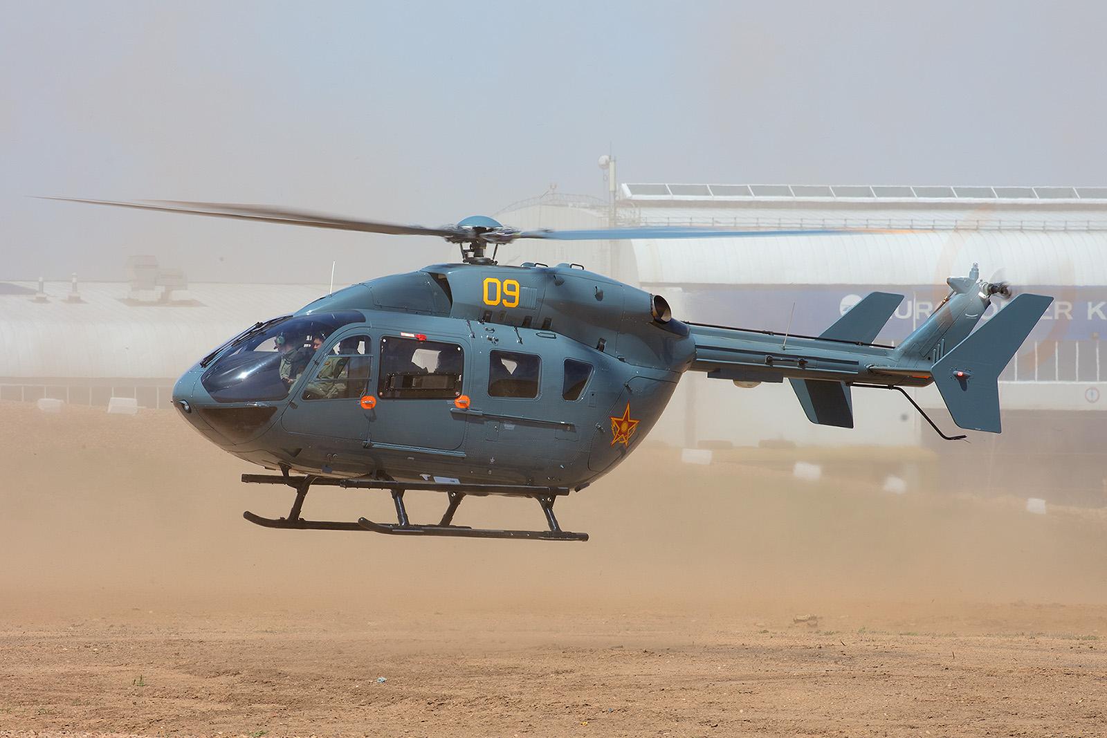 Landung einer H145.....