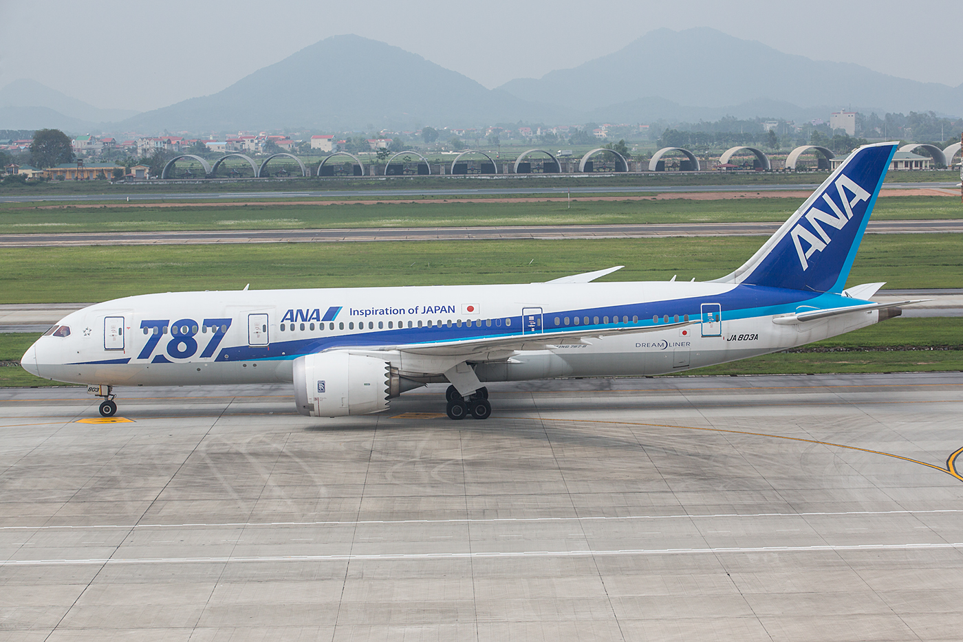 Dreamliner der All Nippon Airways.