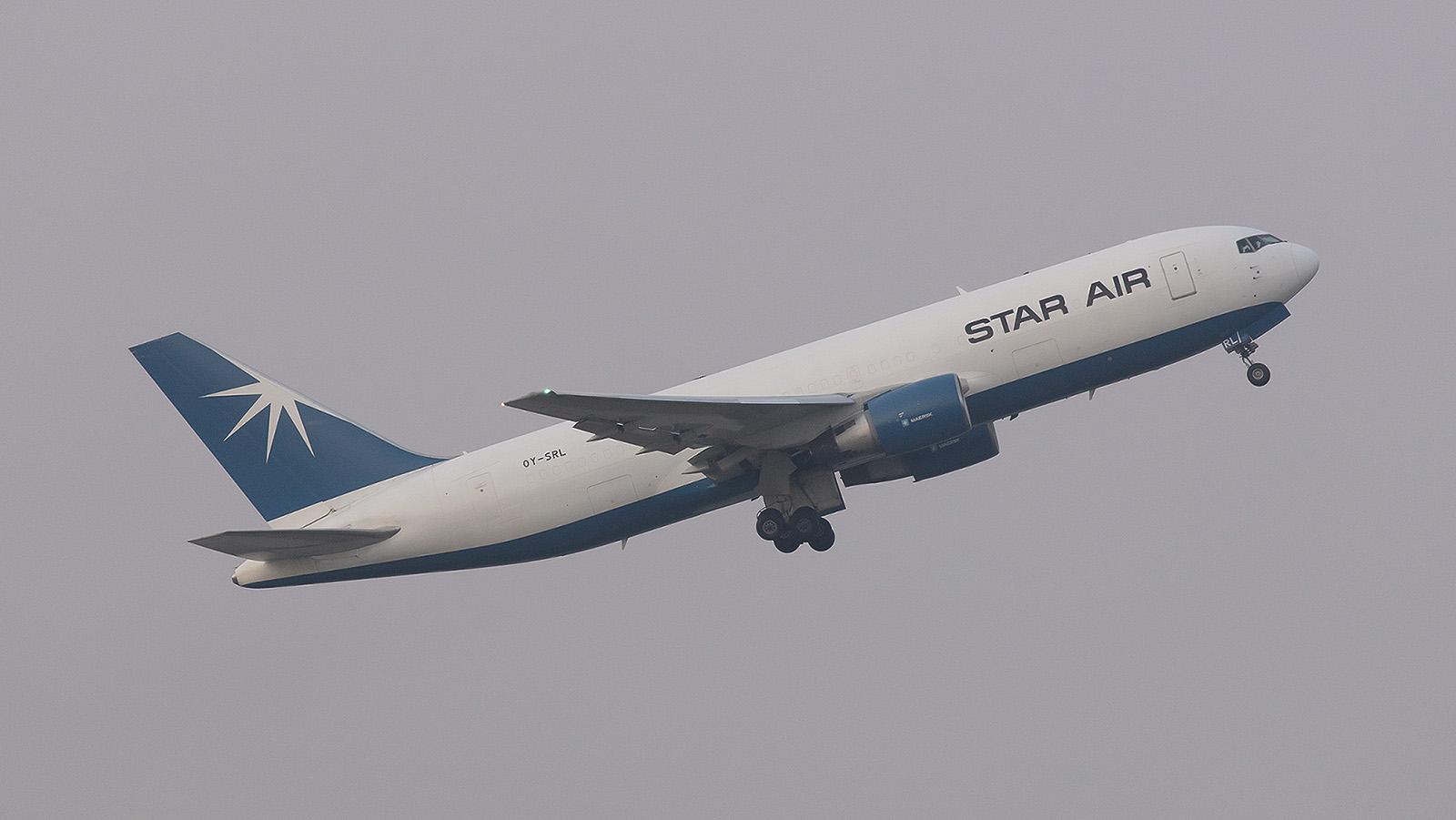 Star Air ist heute Eigentümer dieser Boeing 767-232(BDSF), ehemals Delta Airlines.