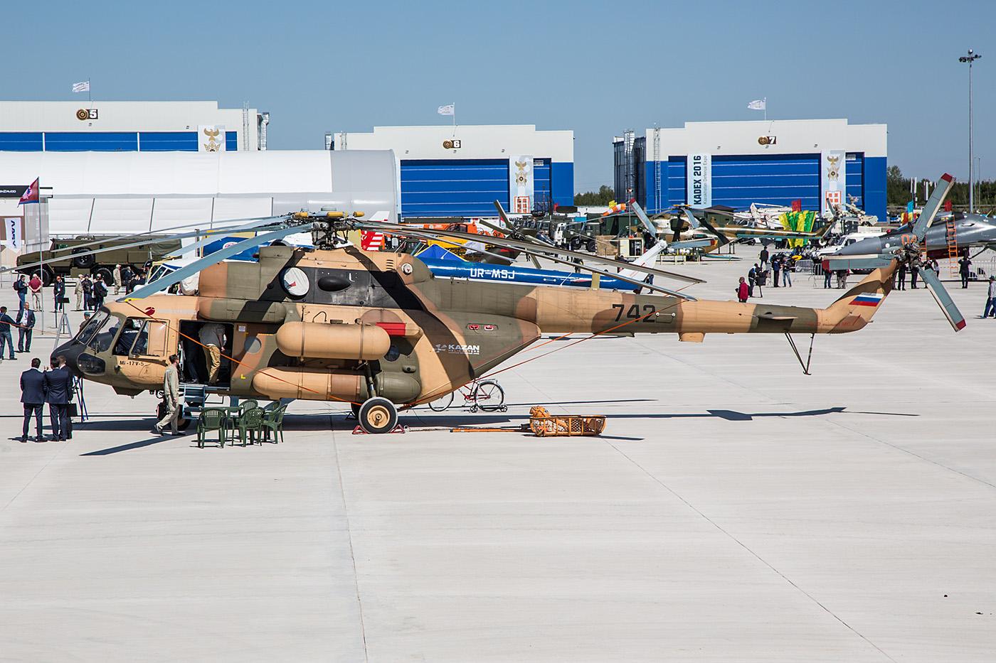 Mil Mi-17V-5 von Kazan Helicopter.
