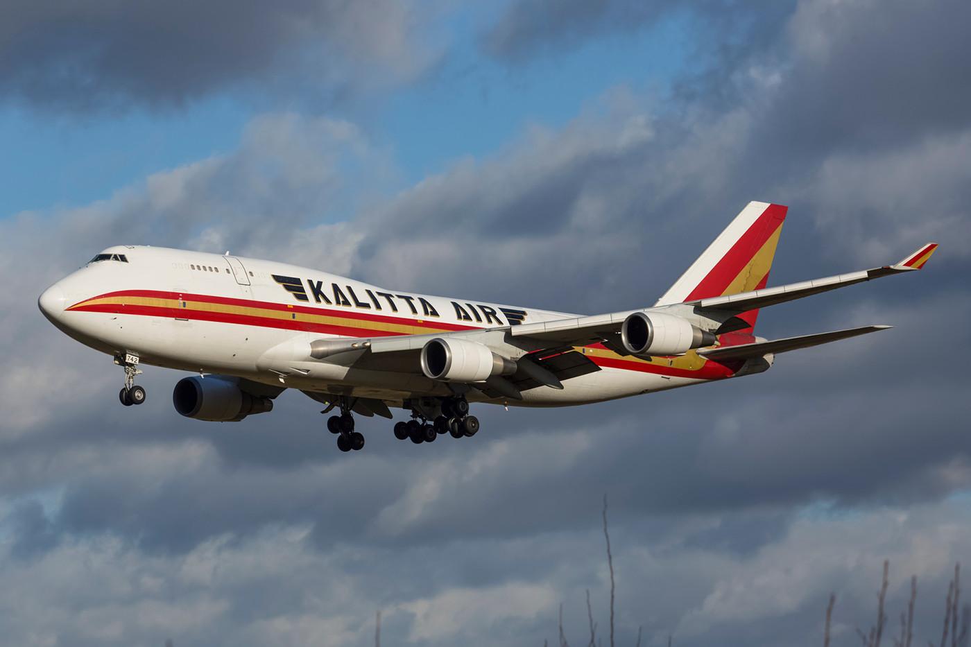 RMS 11.01.2015; Boeing 747-446BCF; Kalitta Air (ex-Japan Airlines JA8072)