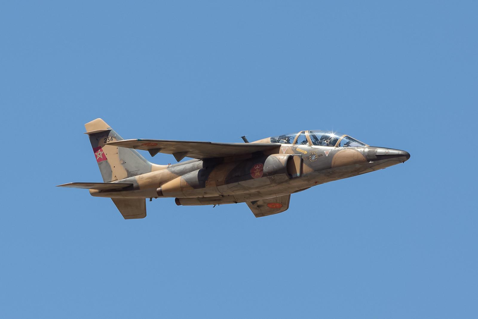 Hier mal ein einzelner Alpha Jet H.