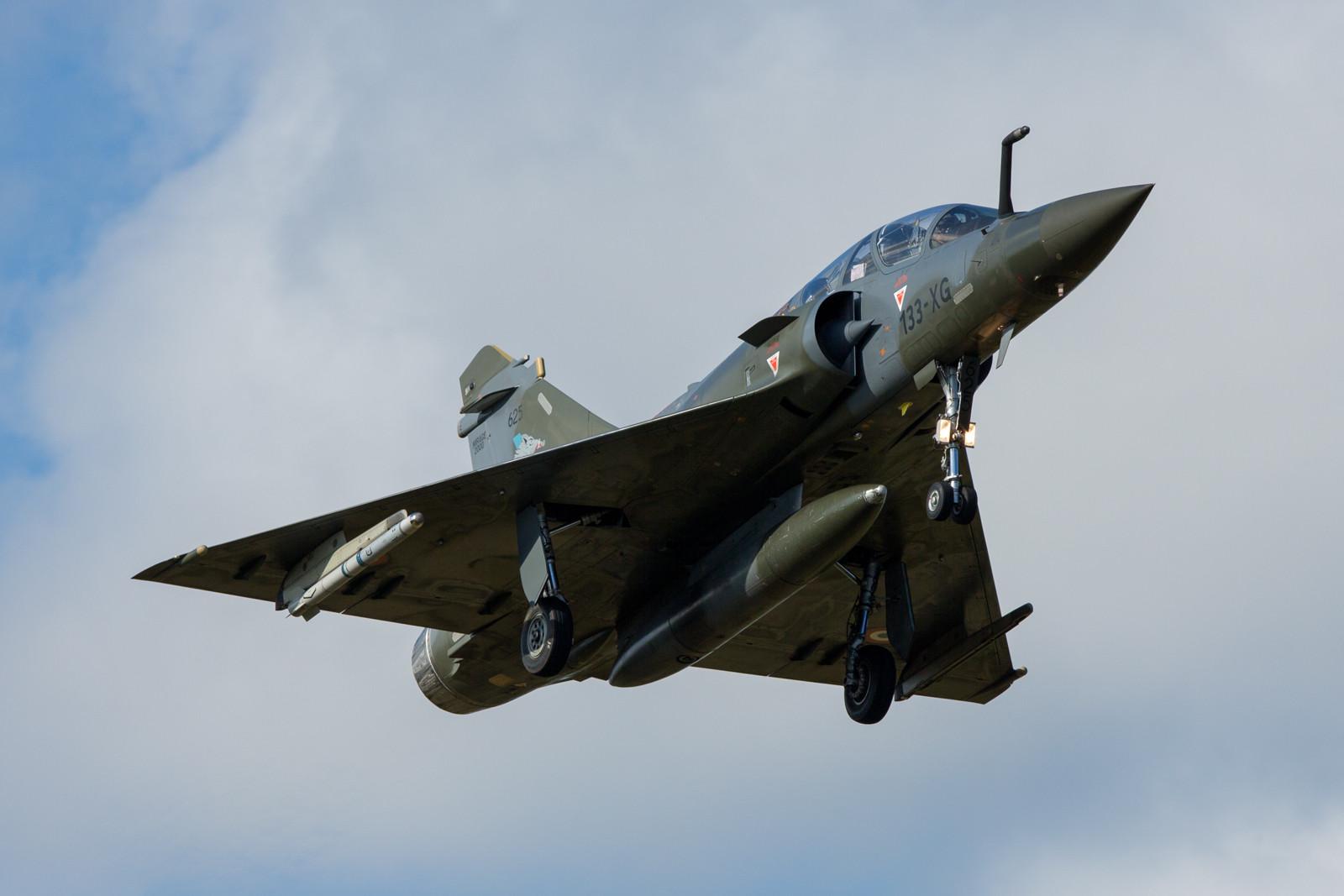 """625, Mirage 2000D der 2 GC III/3 der EC 03.003 """"Ardennes""""."""
