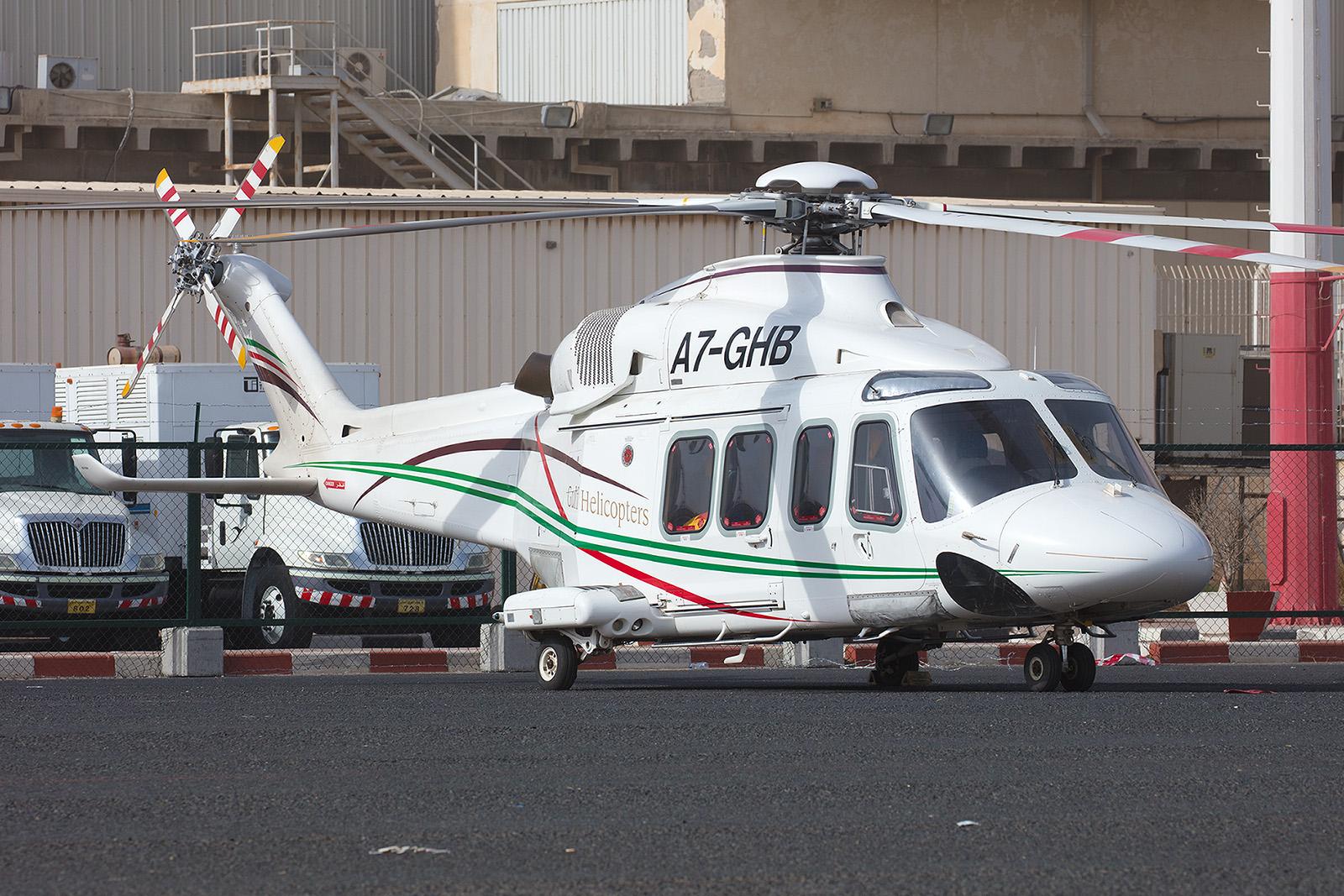 Agusta/Westland AW-139 von Gulf Helicopters