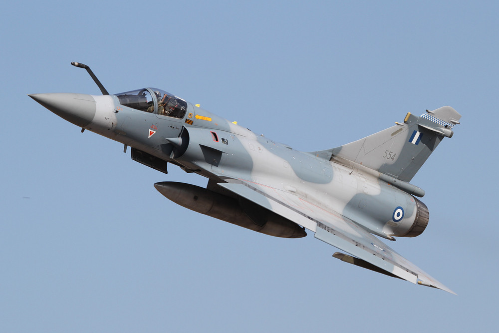 Mein wohl bestes Bild einer Mirage 2000