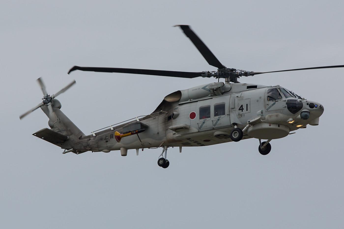 Neben mnehreren Orion´s flogen auch einige SH-60K der JMSDF.