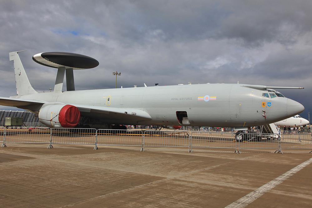 In Waddo beheimatet sind die E-3D AWACS der no. 8 Sqn.