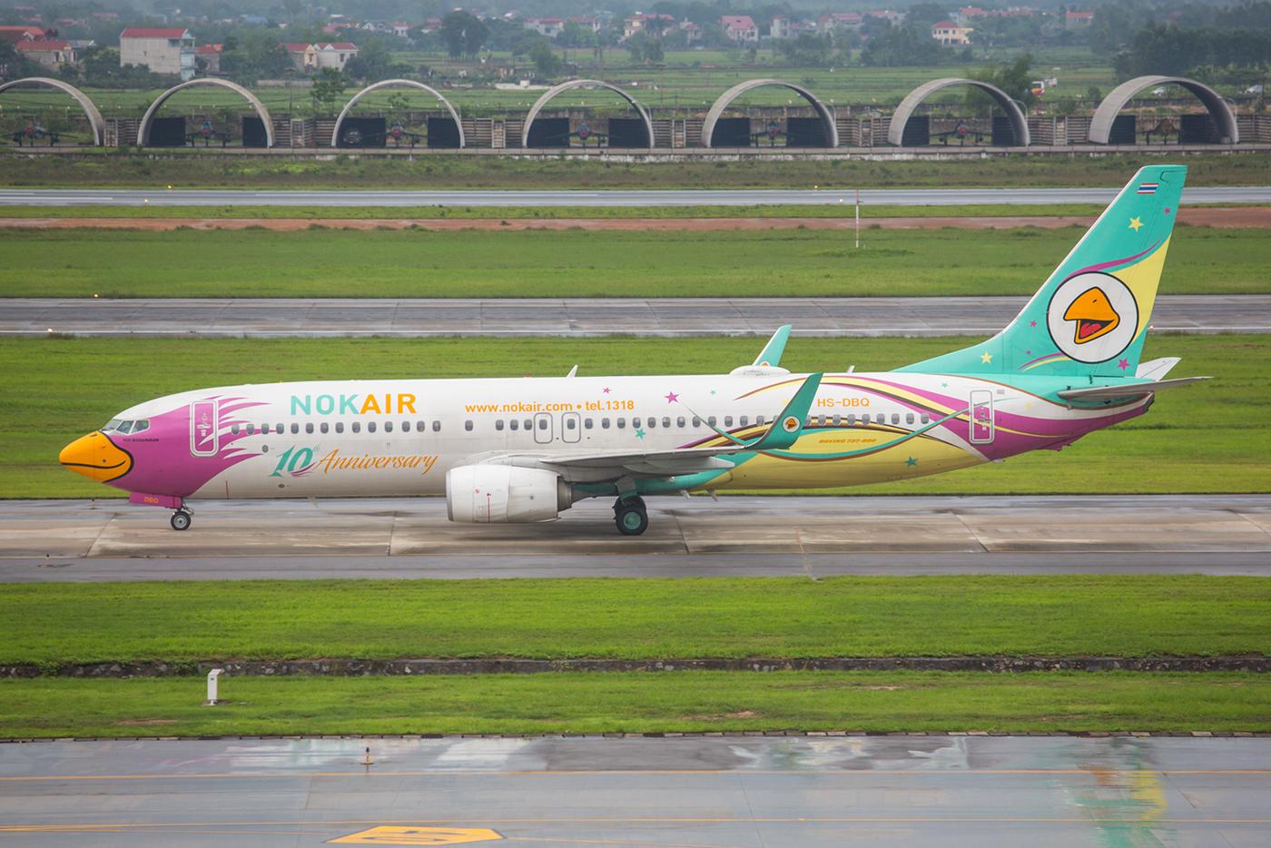 Die farbenfrohe NOK Air feiert auch schon ihr 10jähriges Jubiläum.