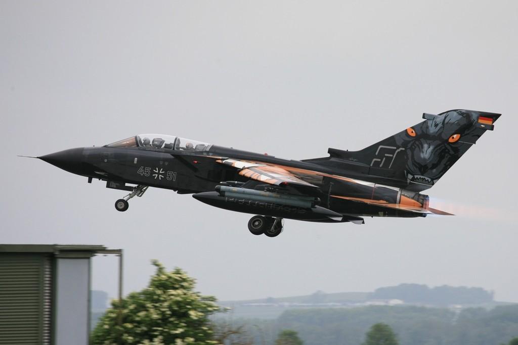 Die 1. AG 51 mit ihrem Panther beim Tigermeet 2011 in Cambrai.