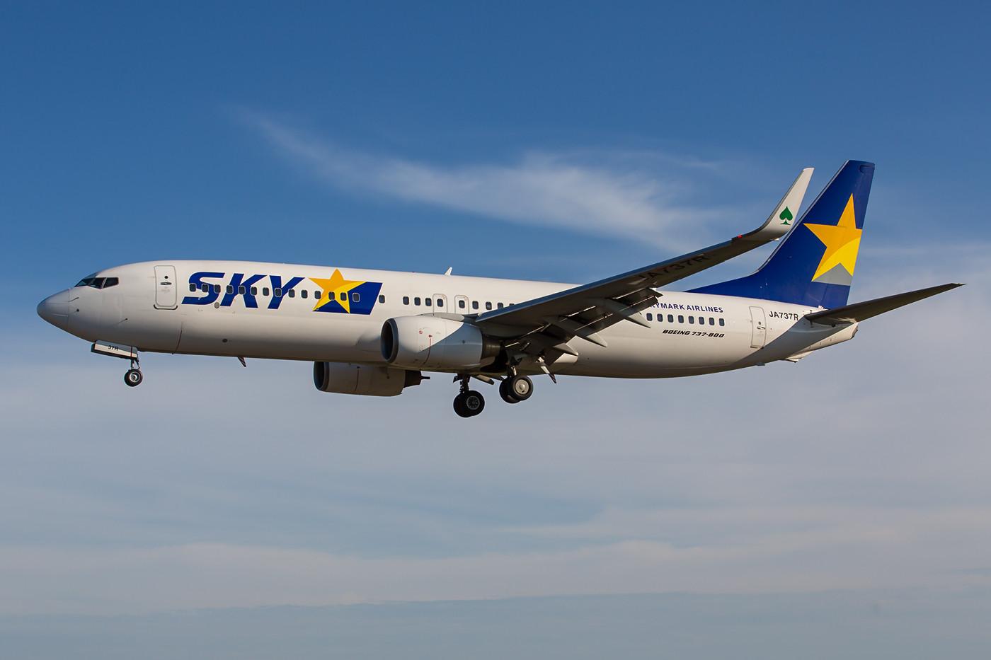 """An der Nachmittagsposition muss man sich wirklich echt bemühen die """"grossen"""" 737 vollständig in Bild zu bekommen."""